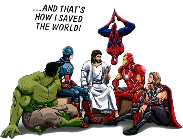 Jesus & superheros